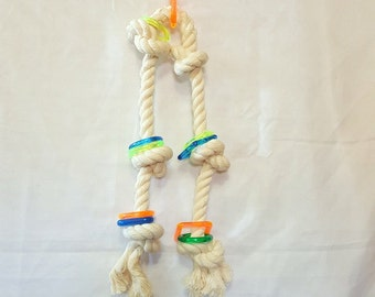 Jungle Rope macaw parrot bird toy