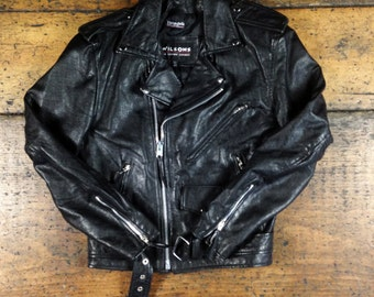 Leather Motorcycle Jacket by Wilsons