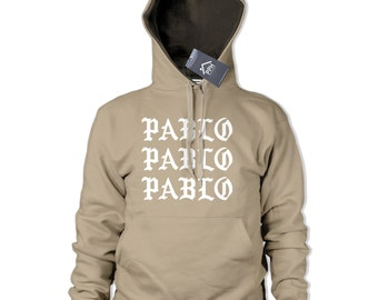 Pablo Hoodie Sand Military Green Hoody Hooded Sweater Tour Yeezus Hoodie