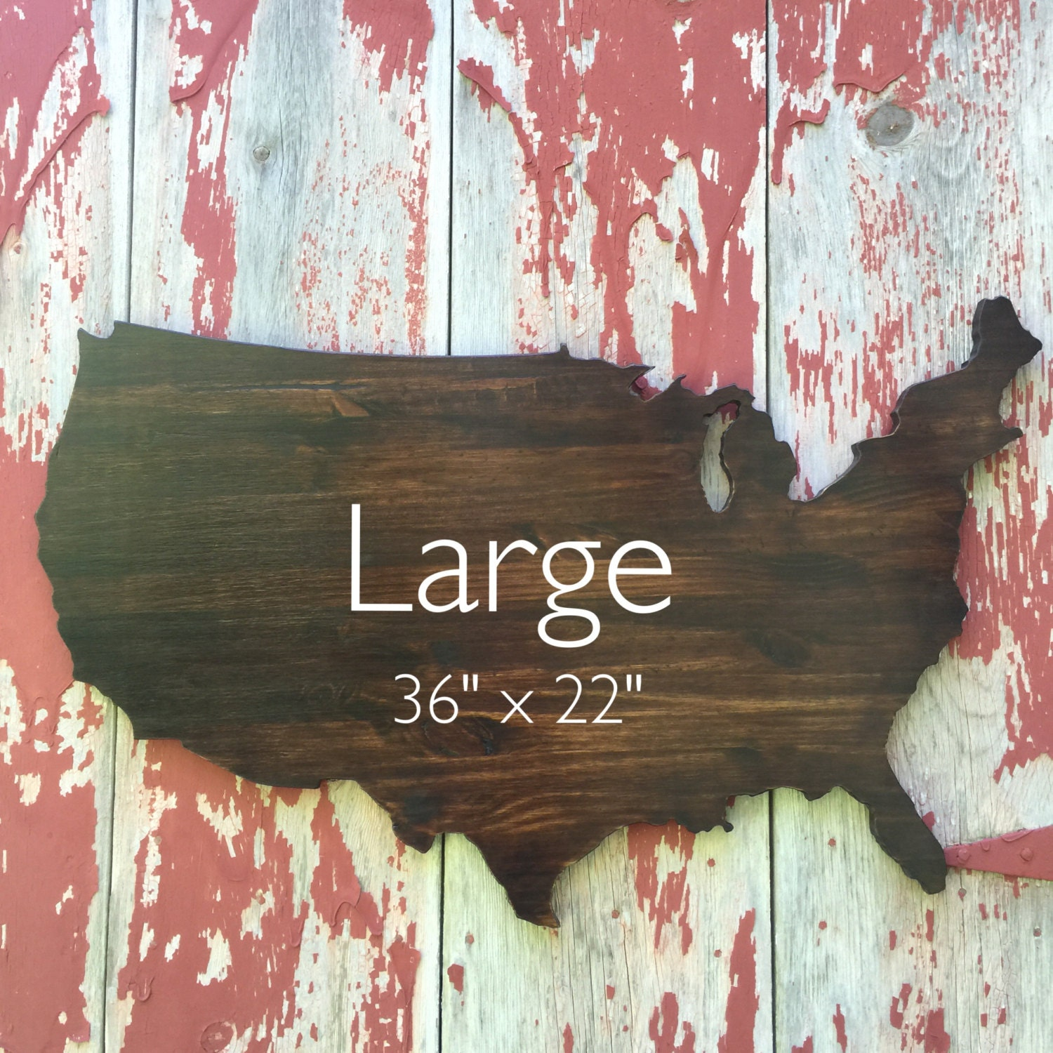 USA Wooden Wall Decor Wooden Map Wall Art Stained   Maps Of Us Wall Art