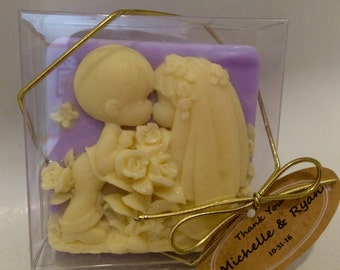 Wedding or shower thank you soap for your guests-Adorable !!