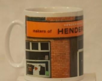 Henderson's Relish mug