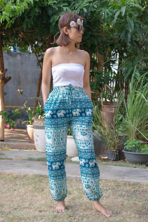 Creative  Women39s Yoga Clothing Elephant Pants Navy Blue Us Size 014 Clothing