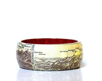 Bangles WENDELSTEIN 1928 vintage Panorama Mountain Guide Travel Guide