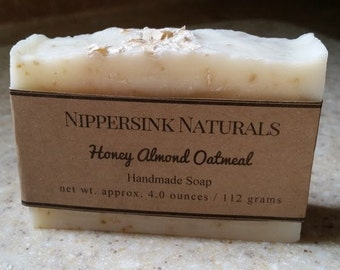 Oatmeal Honey Almond Soap