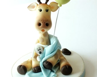 Giraffe Cake Topper PDF Tutorial / Christening / Baby Shower