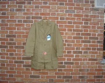 Veste bleu de travail. Pur coton. Taille 3. XL.  Sanfor Molinel. Vintage. Vêtement France