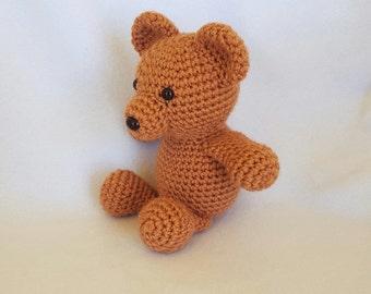 Timmy the Crochet Stuffed Teddy Bear