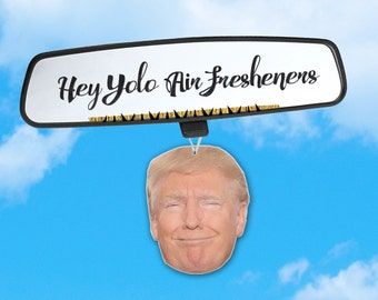 Donald Trump Air Freshener - Trump Air Freshener - Fresh Scents - Air Freshener Heads