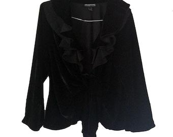 Vintage Mishca velvet jacket