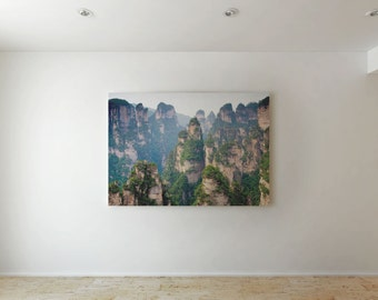 Green hills - Canvas decor