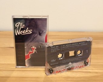 9 1/2 Weeks - Tape - Cassette - Soundtrack - Album - 80s