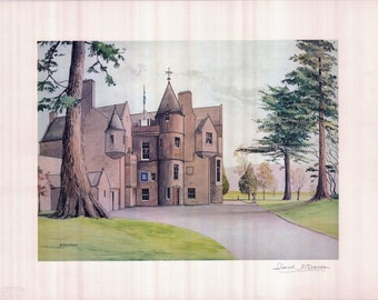 Balhousie Castle - the home of the Black Watch
