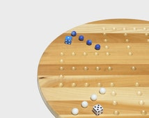 Wooden Aggravation Board Game - Wahoo Board Game - Marble Board - Classic Aggravation Game Board - Wedding Gift - Christmas Gift - PAB001