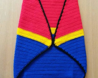 Superhero Hooded Blanket