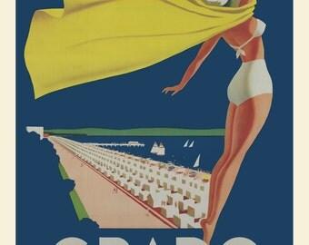 Vintage Italian Travel Poster Print