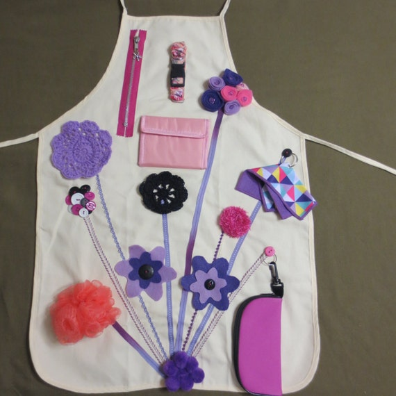 Activity Apron Fidget Busy For The Elderly And