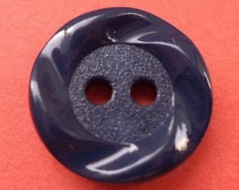 10 dark blue Knobs 15 mm (2054) knob
