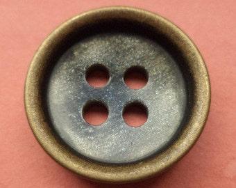 10 buttons bronze 21mm (5752) button jacket buttons
