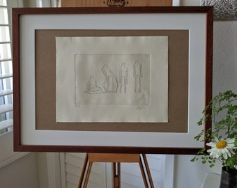 Melt: Original, Hand-Pulled, 1st Edition print