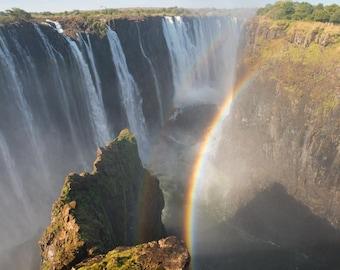 Victoria Falls - Zimbabwe Side - Travel Photography - Landscape Photography