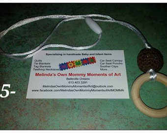 Wooden Teething Necklace #1
