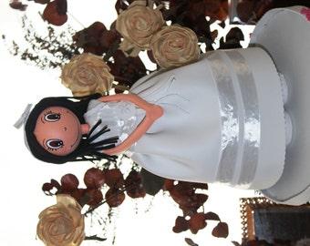 Fofucha personalized communion girl