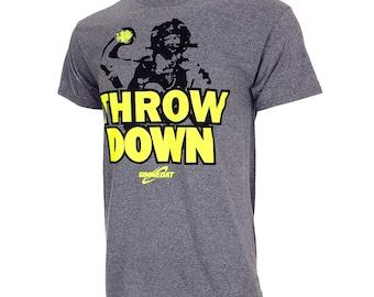 Throw Down Short Sleeve Shirt, Fastpitch Softball Shirt, Softball Gift - Free Shipping!
