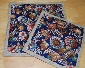 Sunflower Quilted Hot Pads