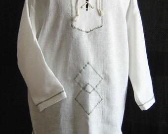 Linen shirt men 39 s linen summer shirt long sleeve linen for Mens summer linen shirts
