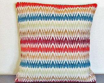 Decorative Pillow Cover, Sofa Pillow Cover, Throw Pillow, Colorful Pillow, Cushion Cover, Gift Ideas, Custom Pillow Case, 16x16 Pillow Cover