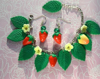 Summer set with berries