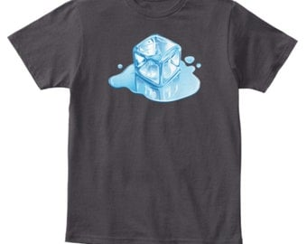 Ice Cube Melting Puddle Shirt