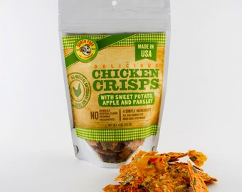 All-Natural Artisanal Dog Treats-Chicken Crisps
