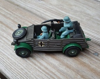 Military Toy Britians  Ltd. Kubelwagen 1980s  from WW2 Used by Germans and Made in England