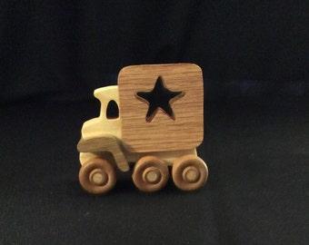 Wooden toy truck, truck, handmade trucks, vehicles, transportation