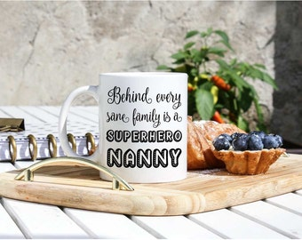Nanny Coffee Mug - Nanny Gift - Gifts For Nanny - Nanny Life Mug - I Love My Nanny GIft - Babysitter Gift Mug - Gifts For Babysitter