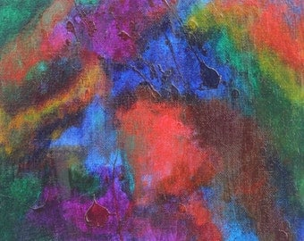 Abstract Painting acrylic on canvas
