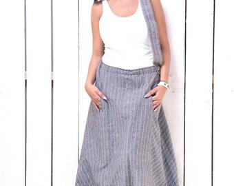 Linen Skirt, Maxi Skirt, Long Skirt, Plus Size Skirt, Floor Skirt, Boho Skirt, Oversized Skirt, Loose Skirt, Low Waist Skirt, Flare Skirt