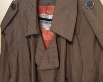 One of a Kind Laks Fifth Avenue Trench Coat