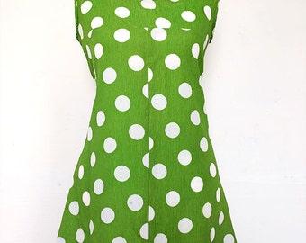 60s TWIGGY dress | MOD | 60s MINI dress | spotted