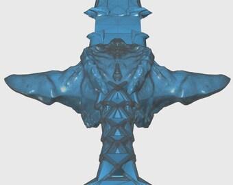 Warcraft Movie Inspired: Lothar's Sword 3D model!