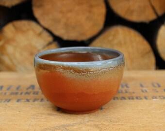 Tiny Bowl—Wood Soda Fired #7