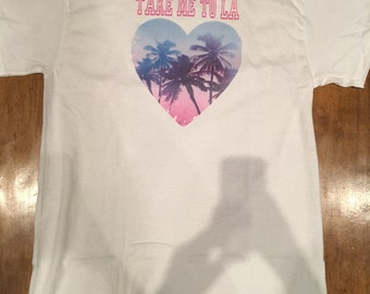 Take Me To LA Vintage Graphic T-Shirt