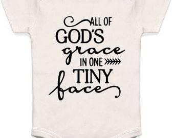 God's Grace Onesie