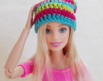 Colorful Barbie surf hat