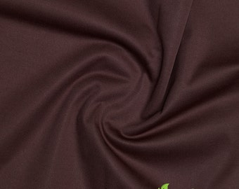 Eco-Friendly ProSoft Waterproof 1 mil PUL Fabric (Chocolate, sold by the yard)