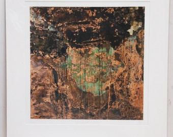 J Mara: Limited Edition Giclée Fine Art Print of Original Copper Painting by Jessica Elleray
