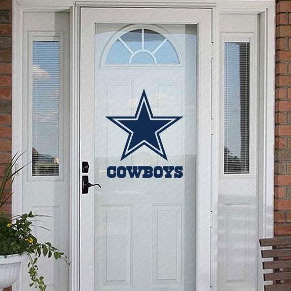 Dallas Cowboys Home Decor Decal Decorating Kit By Lasergraphix