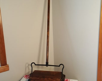 Antique Early Bissell Sweeper, Grand Rapids, Early 1900's Mechanical Broom, Duster